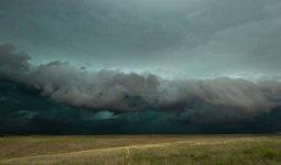Штормовое предупреждение объявлено во всех областях Казахстана