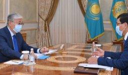 Токаев принял министра образования и науки Асхата Аймагамбетова