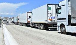 Скопление фур на казахстанско-кыргызской границе прокомментировали в КГД