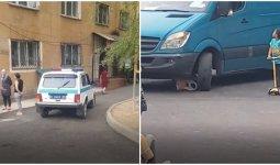 Трехлетняя девочка на самокате попала под колеса минивэна в Алматинской области