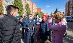 Проблемы жителей Косшы решаются благодаря Nur Otan
