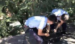 Мужчина пытался спрыгнуть с крыши дома в Алматы
