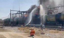 Цистерна с тоннами бензина едва не взорвалась в Туркестанской области