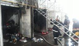 Барахолка снова горела в Алматы
