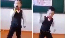 «Будешь звездой»: заводной танец школьника восхитил Казнет