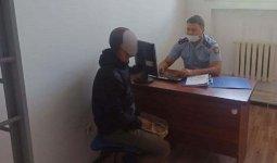 Грабитель сел в машину к полицейским, перепутав с такси в Алматинской области