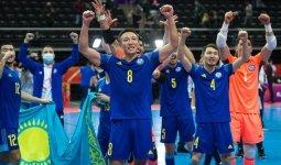Как сборную Казахстана по футзалу встретили в столице. Появилось видео