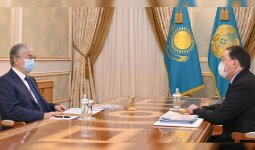 Аскар Мамин рассказал Касым-Жомарту Токаеву о работе по стабилизации цен