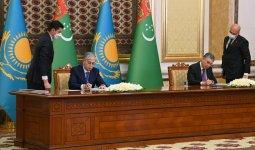 20 документов были подписаны по итогам переговоров Касым-Жомарта Токаева и Гурбангулы Бердымухамедова