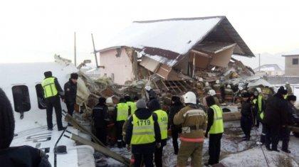 Дом, в который врезался самолет Bek Air, построен самовольно - акимат