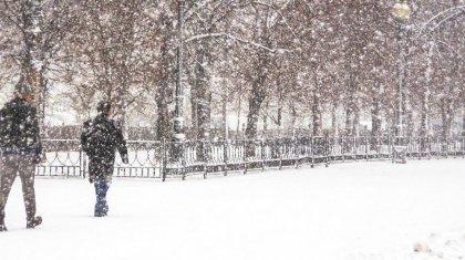 Аномально теплую погоду со снегом прогнозируют в Казахстане