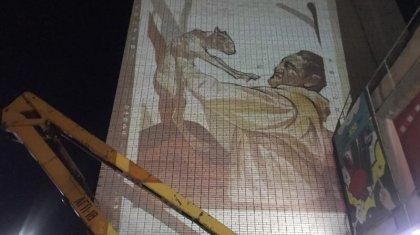 В честь погибшего егеря появится мурал в Караганде