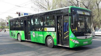 Три выходных дня не будет работать общественный транспорт в Алматы