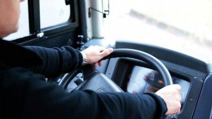 Пьяный водитель сел за руль автобуса в Павлодарской области