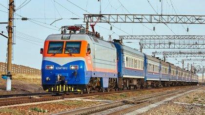 График движения некоторых поездов изменен в Казахстане