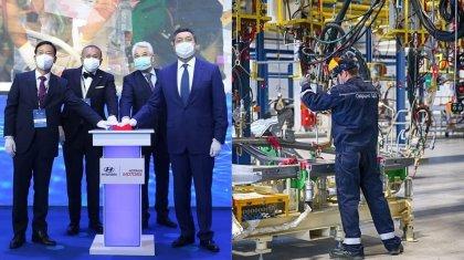 Еще один завод по сборке легковушек заработал в Казахстане