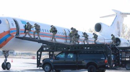 Кадры захвата самолета показал КНБ