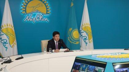 Бауыржан Байбек предложил усилить взаимодействие участникам межпартийного форума ШОС+