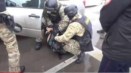 Операцию спецназа по задержанию наркодилера в Нур-Султане показали на видео