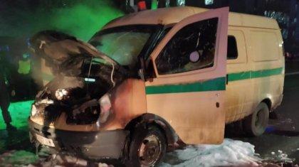 Стали известны подробности возгорания инкассаторской машины в Экибастузе