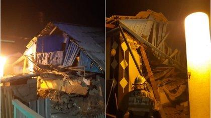 Взрыв произошел в Талдыкоргане, пострадали восемь человек