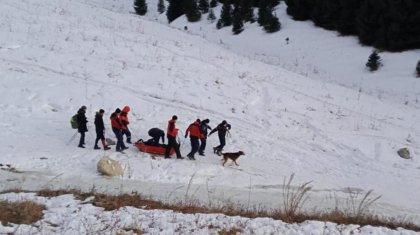 Спасение алматинца в урочище Кок-Жайлау сняли на видео