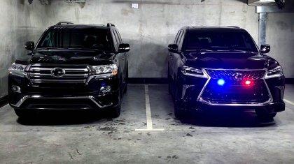 Land Cruiser 200 и Toyota Camry 70: на чем еще ездят полицейские?