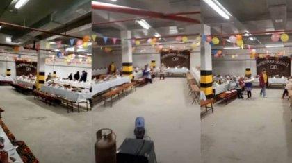 Свадьба в подземном паркинге: организатора тоя и владельца помещения наказали в Актау