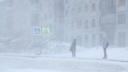 Штормовое предупреждение объявлено в 10 областях Казахстана