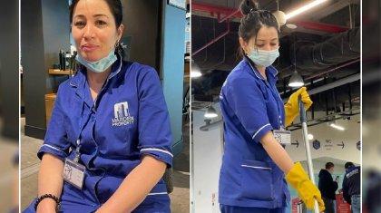 Невероятным преображением уборщицы из Алматы восхищаются в Сети