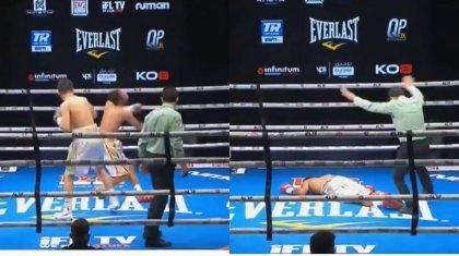 Казахстанский боксер нокаутировал в первом раунде непобежденного венесуэльца с 20 победами