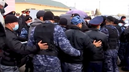 Против полицейского беспредела выступили журналисты в Шымкенте