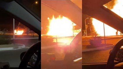 Мощный взрыв прогремел в Актау