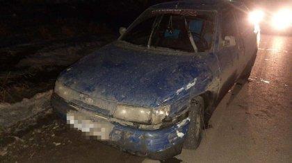 Пьяный житель Петропавловска поехал с 4-летним сыном загород и попал в ДТП