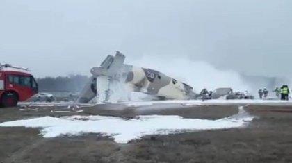 Врач рассказал о состоянии выживших при крушении военного самолета Ан-26 в Алматы