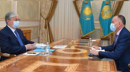 Президент принял главу Центризбиркома