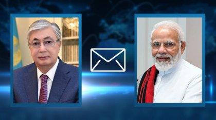 Президент Казахстана выразил соболезнование премьер-министру Индии