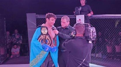 Казахстанец за две минуты нокаутировал американского экс-бойца UFC
