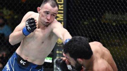Казах из UFC «наказал» оскорбившего Казахстан дерзкого бразильца