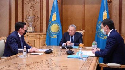 Нурсултан Назарбаев принял Алика Айдарбаева