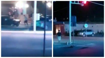 Сбивают людей на машине: жестокая драка попала на видео в Кызылорде