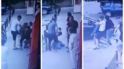 Избиение и похищение казахстанского бойца MMA попало на видео