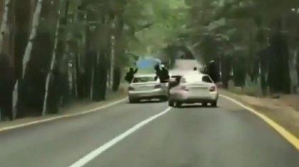 Наказаны водители, устроившие опасную езду по серпантину в Боровом