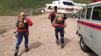 Сильно замерз: спасатели нашли пропавшего в горах алматинца