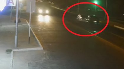 Наезд на инвалида-колясочника попал на видео в Актау