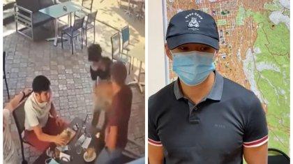 «Несильно». Ударивший официанта по лицу алматинец публично извинился