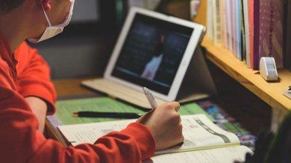 Казахстанцы распространяют информацию о дистанционном обучении школьников