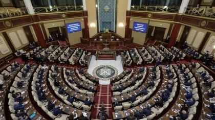 Казахстанский Парламент вновь начал свою работу