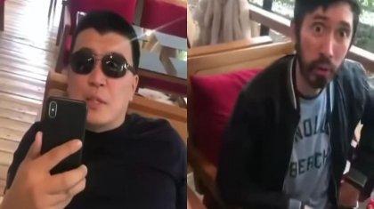 «Оплатите счет»: обматеривших официантку мужчин установила полиция Алматы