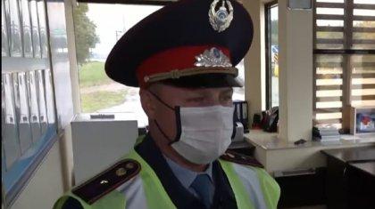 Полицейский Александр из СКО отличился совершенным владением казахским языком